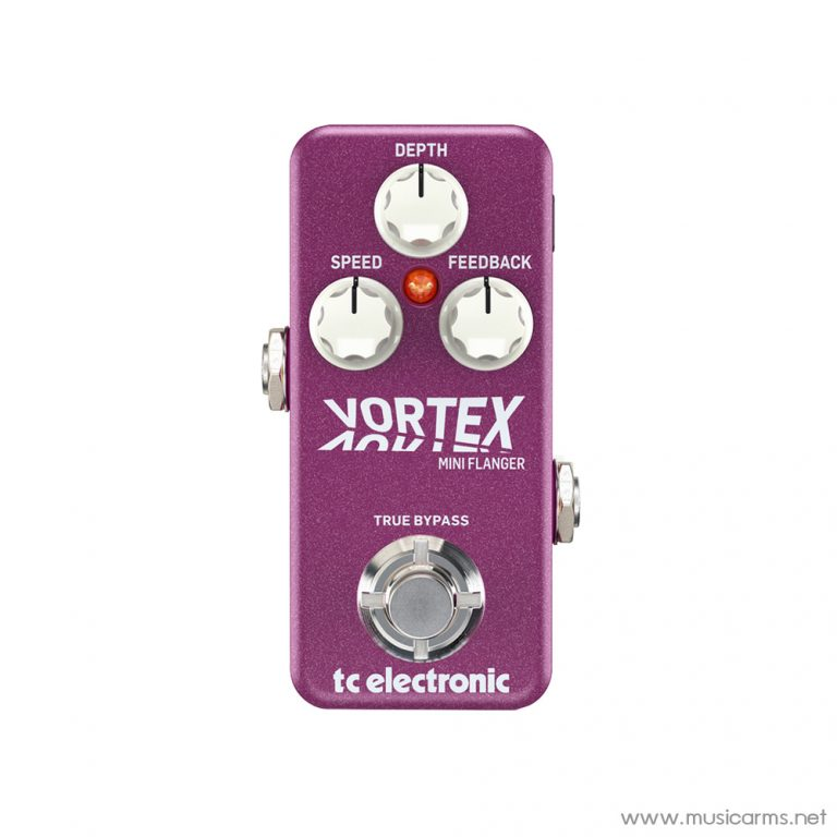 Face cover TC-Electronic-Vortex-Mini-Flanger-Pedal ขายราคาพิเศษ