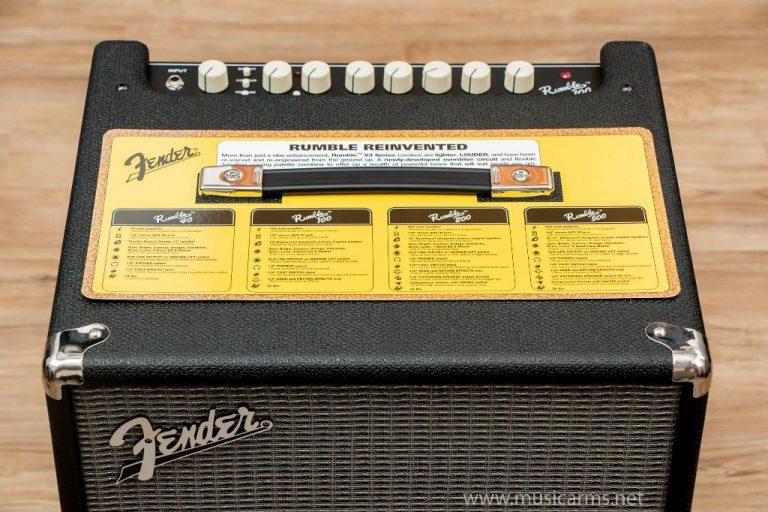 Fender Rumble 100 ด้านบน ขายราคาพิเศษ