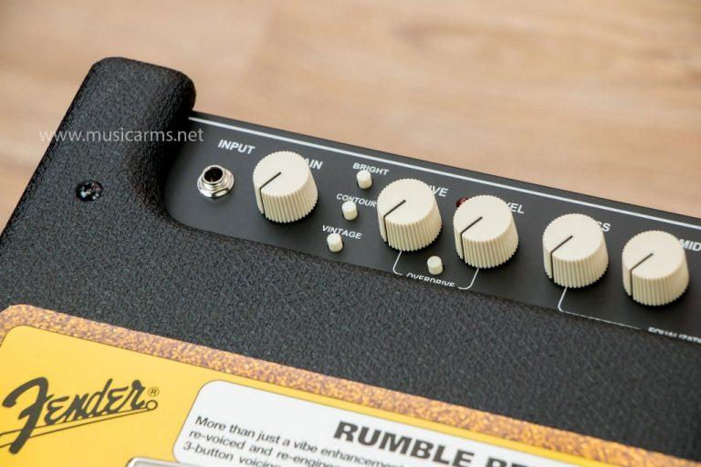 Fender Rumble 100 ปุ่มคอนโทรล ขายราคาพิเศษ