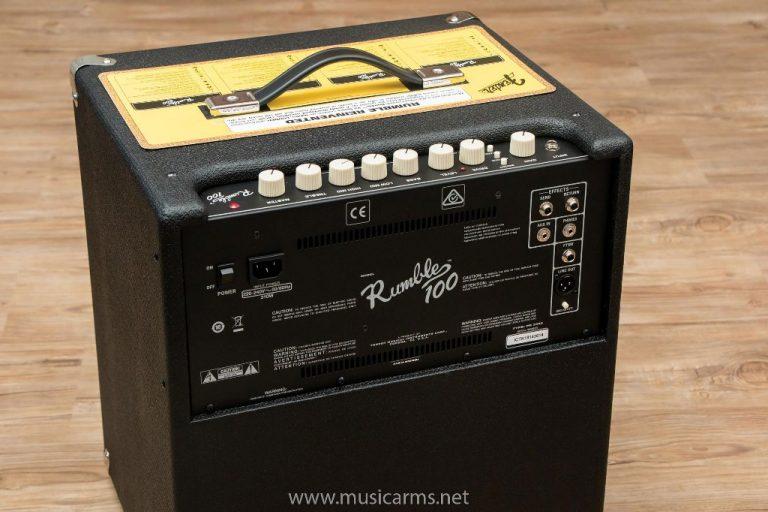 Fender Rumble 100 ด้านหลัง ขายราคาพิเศษ