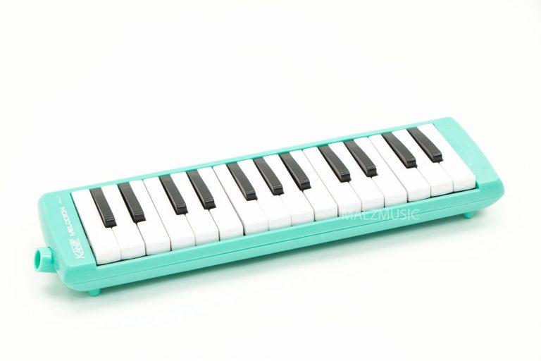 Melodian Suzuki 27 key สีเขียว ขายราคาพิเศษ