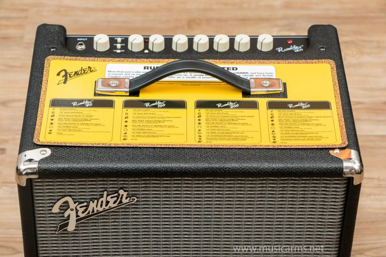 Fender Rumble 40 ราคา ขายราคาพิเศษ