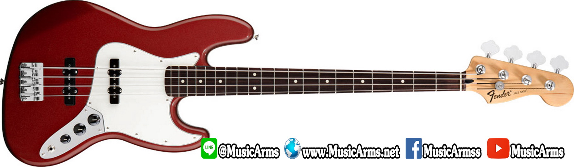 fenderjbass01-candy apple red