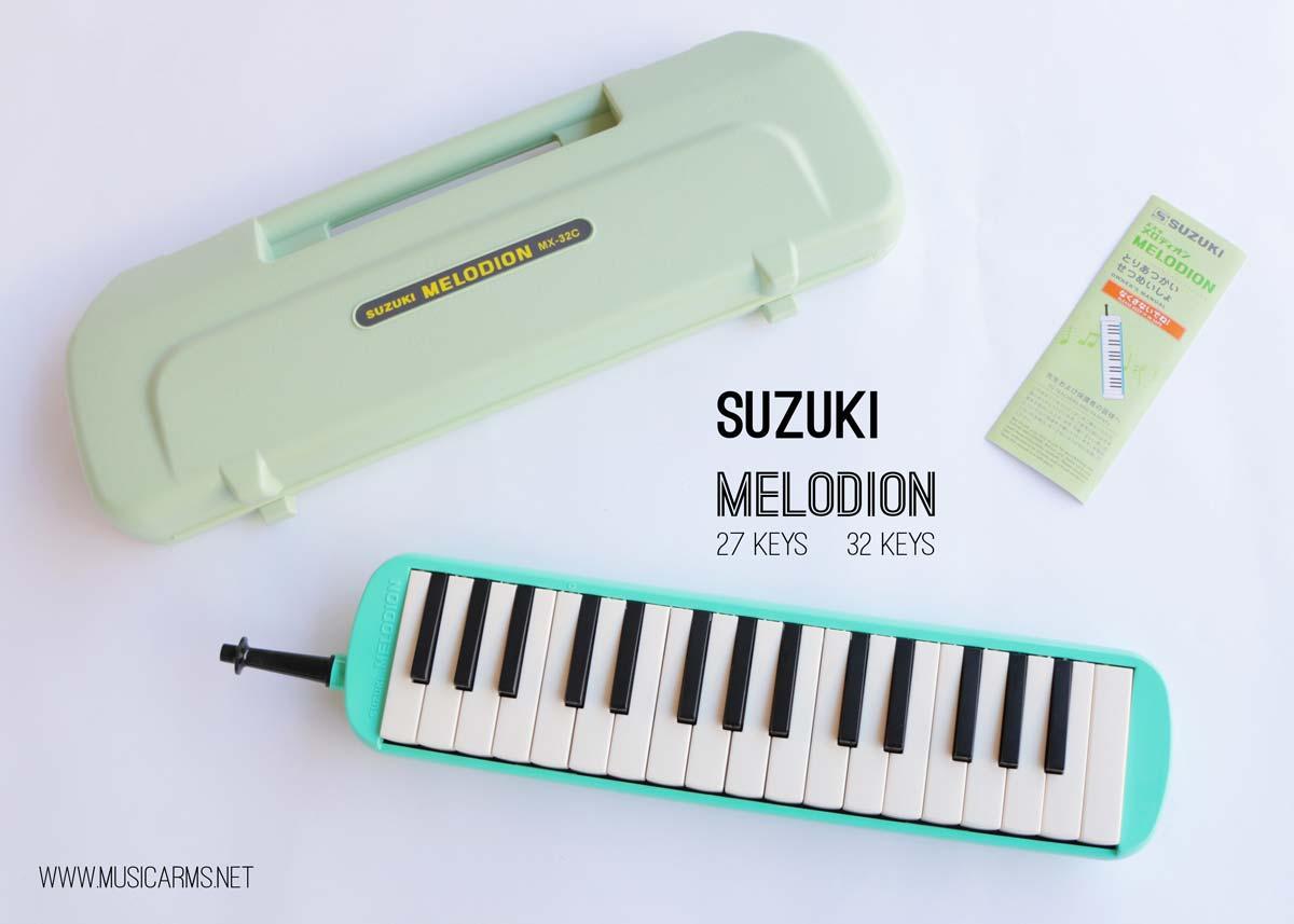 เมโลเดี้ยน 32คีย์ -suzuki-เขียว