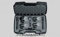 Shure PGDMK6-XLR Drum Mic Set 6 pcs