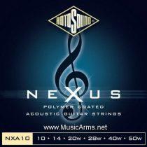 ROTOSOUND NXA10 NEXUS 10/50 Clear Coated
