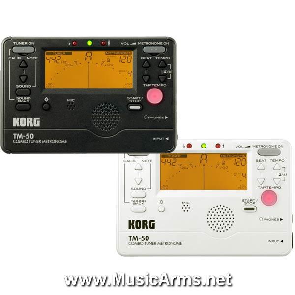 Korg TM-50 Combo Tuner Metronome ขายราคาพิเศษ