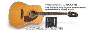 Epiphone AJ-500Me Acoustic Guitar