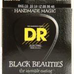DR BKE-10 Black Beauties K3 Coated Medium Electric Guitar Strings ลดราคาพิเศษ