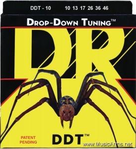 DR DDT-10 Drop-Down Tuning Stainless Steel Medium Electric Guitar Strings