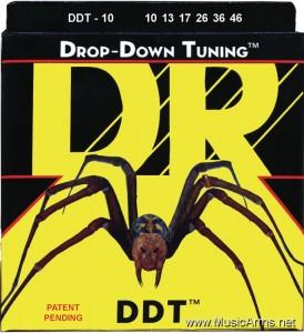 DR DDT-10 Drop-Down Tuning Stainless Steel Medium Electric Guitar Strings ขายราคาพิเศษ