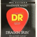 DR DSE-10 Dragon Skin Medium K3 Coated Electric Guitar Strings ลดราคาพิเศษ