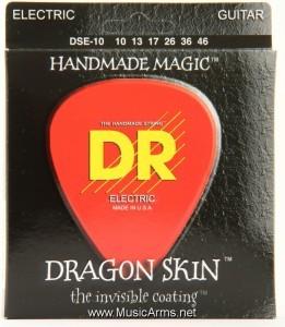 DR DSE-10 Dragon Skin Medium K3 Coated Electric Guitar Strings