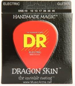 DR DSE-10 Dragon Skin Medium K3 Coated Electric Guitar Strings ขายราคาพิเศษ