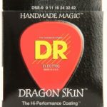 DR DSE-9 Dragon Skin Lite K3 Coated Electric Guitar Strings ลดราคาพิเศษ