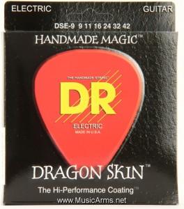 DR DSE-9 Dragon Skin Lite K3 Coated Electric Guitar Strings ขายราคาพิเศษ