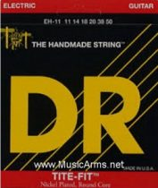 DR EH-11 Tite-Fit Extra Heavy Nickel Plated Electric Guitar Strings