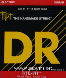 DR EH-11 Tite-Fit Extra Heavy Nickel Plated Electric Guitar Strings ขายราคาพิเศษ