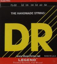 DR FT-12 Legend Light Flatwound Electric Guitar Strings