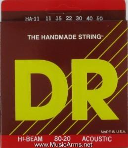 DR HA-11 Hi-Beam 80-20 Medium-Lite Acoustic Guitar Strings