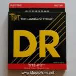 DR JH-10 Tite-Fit Jeff Healey Medium Nickel Plated Electric Guitar Strings ลดราคาพิเศษ