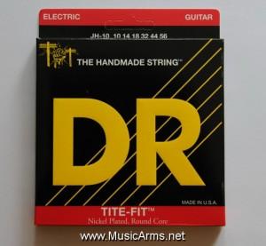 DR JH-10 Tite-Fit Jeff Healey Medium Nickel Plated Electric Guitar Strings ขายราคาพิเศษ