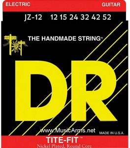 DR JZ-12 Tite-Fit Nickel Plated Electric Guitar Strings ขายราคาพิเศษ