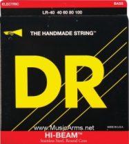 DR LR-40 Hi-Beam Stainless Steel Lite Bass Strings