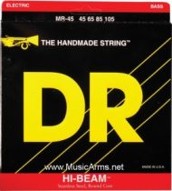 DR MR-45 Hi-Beam Stainless Steel Medium Bass Strings