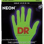 DR NGB-45 Neon Hi-Def Green K3 Coated Bass String ลดราคาพิเศษ