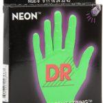 DR NGE-9 Neon Hi-Def Green K3 Coated Lite Electric Guitar Strings ลดราคาพิเศษ