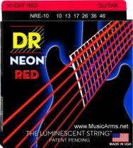 DR NPE-9 Neon Hi-Def Pink K3 Coated Lite Electric Guitar Strings