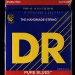 DR PHR-10 Pure Blues Pure Nickel Medium Electric Guitar Strings ลดราคาพิเศษ