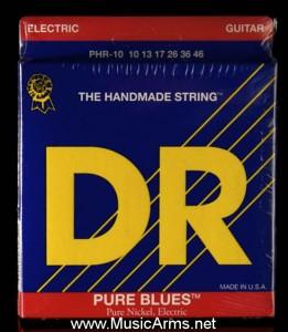 DR PHR-10 Pure Blues Pure Nickel Medium Electric Guitar Strings ขายราคาพิเศษ