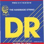 DR PHR-9 Pure Blues Pure Nickel Lite Electric Guitar Strings ลดราคาพิเศษ