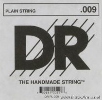 DR PL009 , PL010 Plain Steel Single Guitar String