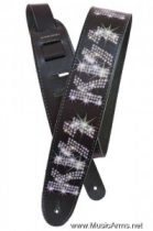 PLANET WAVES 25LK02 Kiss Guitar Strap Rhinestone