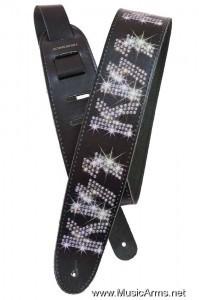 PLANET WAVES 25LK02 Kiss Guitar Strap Rhinestone