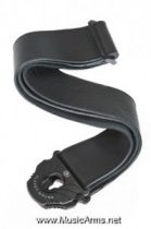 PLANET WAVES 50PLL00 Planet Lock Leather Guitar Strap Black