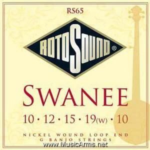 ROTOSOUND RS65 Swanee 5 String G Banjo Strings ขายราคาพิเศษ