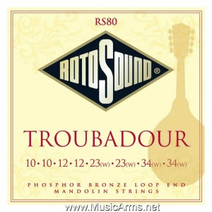 ROTOSOUND RS80 Troubadour Mandolin Strings ขายราคาพิเศษ