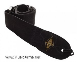 ROTOSOUND STR1 Black Webbing Guitar Strap ขายราคาพิเศษ