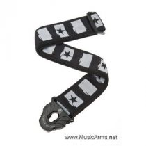 PLANET WAVES 50PLC01 Planet Lock Guitar Strap Rockstar
