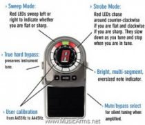 PLANET WAVES PW-CT-04 Chromatic Pedal Stage Tuner