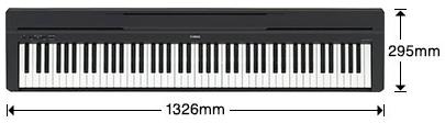 เปียโนไฟฟ้า Yamaha P-45