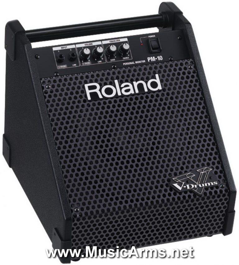 AMPLI+ROLAND+PM+10+RETOUR+BATTERIE+ELECTRONIQUE ขายราคาพิเศษ