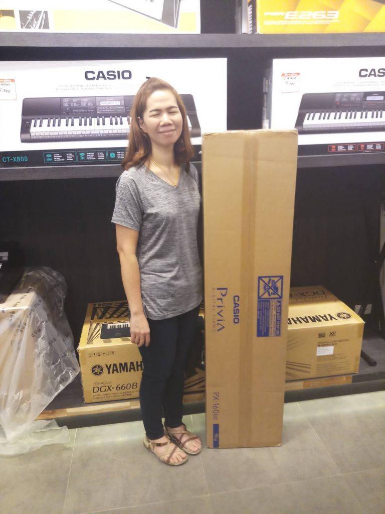 ลูกค้าที่ซื้อ Casio PX-160