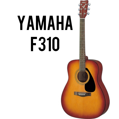 Yamaha f 310 cherry sunburst music arms for Yamaha fs 310 guitar