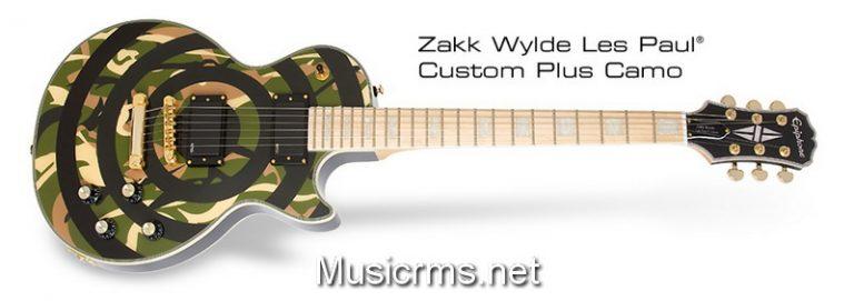 Epiphone Les Paul Zakk Wylde Custom Camo ขายราคาพิเศษ