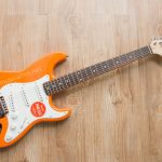 Squier Affinity Stratocaster Orange ขายราคาพิเศษ